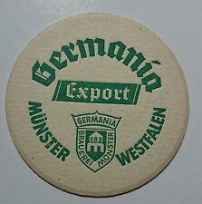 Bierdeckel Germania Bier Export Münster