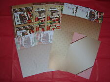 Hunkydory Christmas Card Making~Gingerbread Delight~Luxury Deco-Large Sets +More