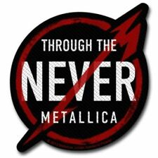 """Metallica """" Through the Never """" Patch / SEW-ON PATCH 602383#"""