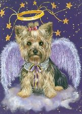 Precious Pet Note Cards - Yorkshire Terrier Angel ~ Charity!!
