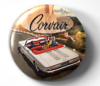 Corvair - Chevrolet - Chevy  - pin pinback button - FREE Shipping