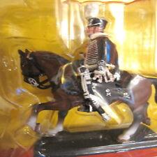 Soldatino di piombo Ussaro Prussiano a cavallo Cassandra 003 Dea 10,5 cm nuovo