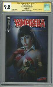 Vampirella #2 CGC 9.8 SS Comic Mint Edition Shannon Maer Variant NYCC Exclusive