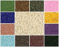 DE088)CHOOSE COLOR! 10g 11/0 (1.6mm) Miyuki Delica, Japanese Seed Beads