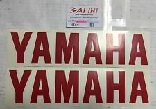 Adesivo coppia scritta YAMAHA rossa Grande  - Sticker