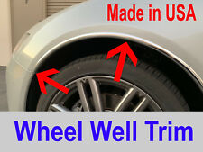 2003-2010 Saturn 4pc Chrome Wheel Well Fender Trim Molding Kit/5YR WRNTY