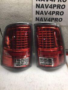 2009-2018 Dodge Ram 1500 2500 3500 FULL LED Tail Light Pair #T437