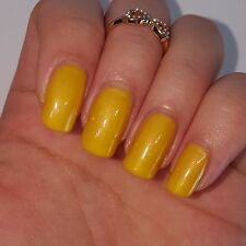 SOFT YELLOW Shiny Nail Polish 15ml indie 5-free handmade vegan cruelty-free