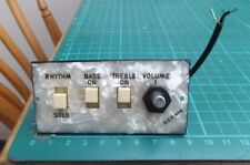 HOFNER guitar or bass control panel 1967 LaRgE SiZe - one pot version