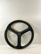 HED 3 Carbon Tri Spoke Tubular Rear Wheel 700c *Great Condition*