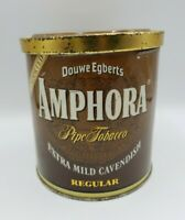 Amphora Tobacco Tin 12 oz with lid vintage