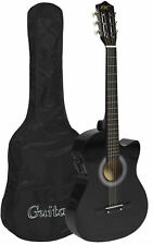 Sky Electric Acoustic Guitar Cutaway Design With Case