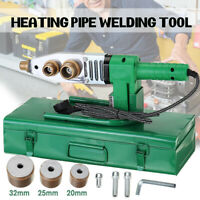 Electric Auto Pipe Welding Machine Heating Tool Heads Set For PPR PP PE Tube K
