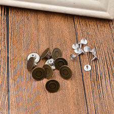 Metal Buttons Suspender Replacement Instant for Clothing Apparel Textiles Repair