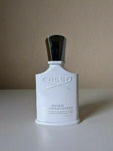 98% full Creed Silver Mountain Water Eau de Parfum Spray 1.7 oz 50 ml EDP