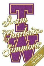 I Am Charlotte Simmons by Tom Wolfe (2004, Hardcover- First Edition)