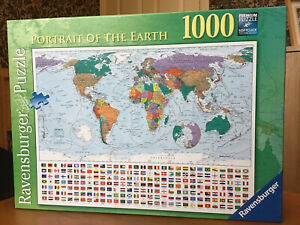 Ravensburger 1000 piece jigsaw puzzle Portrait Of The Earth