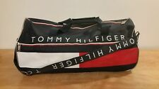 Vtg 1990s Multi-Colored TOMMY HILFIGER Large 24x10x12 Duffle/Carry-On Travel Bag