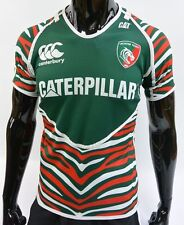 Canterbury Leicester Tigers Rugby Shirt Caterpillar Jersey SIZE 12-S (adults)