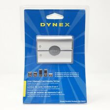Dynex DX-CR501 External USB 5-in-1 Multi Memory Card Reader/Writer Universal New