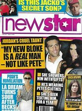 New Star Tabloid Magazine Jordan Victoria Beckham Michael Jackson Coleen Rooney