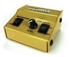 Whirlwind Podmix Mic/Line Mixer & Di Box, 2 Channel Passive