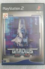 Gradius III And IV (3 And 4) ps2 Playstation 2