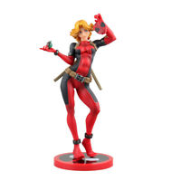 Crazy Toys Marvel Lady Deadpool Bishoujo Statue Doll PVC Action Figure Model Toy