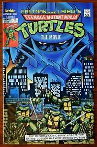 TEENAGE MUTANT NINJA TURTLES - THE MOVIE ADAPTATION --  1990 -- Archie Comics NM