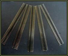 Stiftleisten 1 x 40 Pin Einreihig Raster 2.54 mm vergoldet trennbar 5 Stück