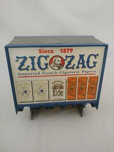 ZIG-ZAG - Cigarette Rolling Papers Vending Dispenser Collectible Store Display