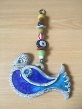 Turkish Blue Evil Eye hanging decorations With blue bird