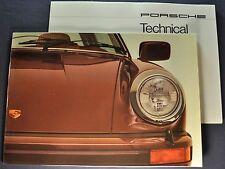 1977 Porsche 911 Prestige Brochure + Insert Carrera Targa Excellent Original 77