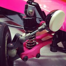 AMPro Tamiya Hornet/Grasshopper Zero Camber Front End, 20MM Offset PINK
