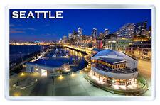 Seattle Washington MOD3 Fridge Magnet Souvenir Magnet Kühlschrank