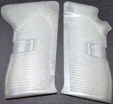 CZ 52 pistol grips pearl white plastic