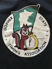 Gopher State Timing Association Size S T-SHIRT Minnesota Car Club Drag Racing