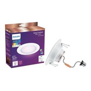"Philips E26 Full Color Wi-Fi LED 6"" Recessed 65w 750 Lumens"