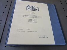 A&G Mercury Parts Manual Tow Tractor Tug W/ Perkins 1104E and Allison AT545