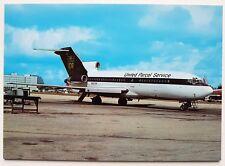 UPS United Parcel Service Boeing 727-31C Postcard