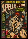 Spellbound #17 Classic Cover Pre-Code Horror Golden Age Atlas Comic 1953 GD+
