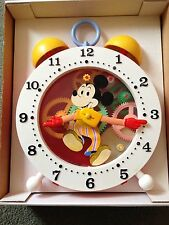 Mickey Mouse Tell-Time Clock