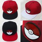 Pokemon Go Baseball Hat Team Mystic InstInct Valor Embroider Cap Cosplay Hat