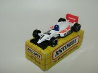 Matchbox Superfast MB74 Formula Racer White VERY RARE TYCO TOYS Box MIB