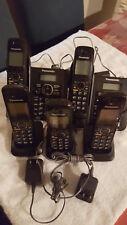 set of 5 Panasonic KX-TG6641 Cordless Phones