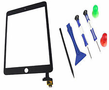iPad Mini 3 3rd A1599 A1600 A1601 Touch Screen Digitizer + IC Black + Tools UK
