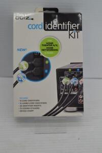 DOTZ Home Entertainment Cord Identifier Kit NEW {66323B40}