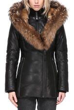 Mackage Ingrid Leather Down Coat - Size M - NWT!