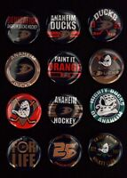"Anaheim Ducks Hockey - 1"" Pinback Buttons (>FREE Shipping<)"