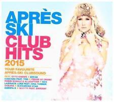 APRES Ski Club Hits 2015 di Various Artists (Nuovo + OVP)